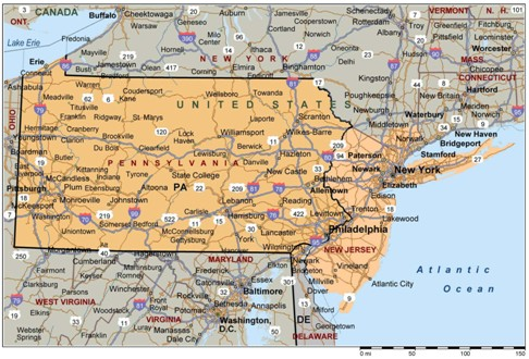 Similiar Mapquest Map Of Pa And Nj Keywords